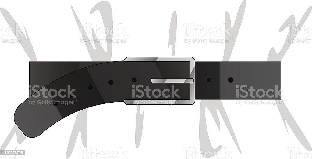 tight belt royalty-free stock vector art