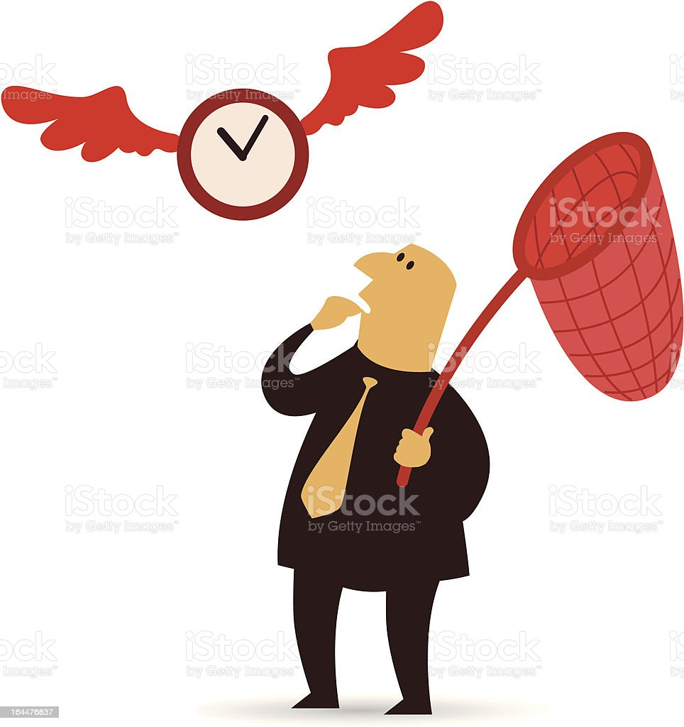 Time Catcher royalty-free stock vector art