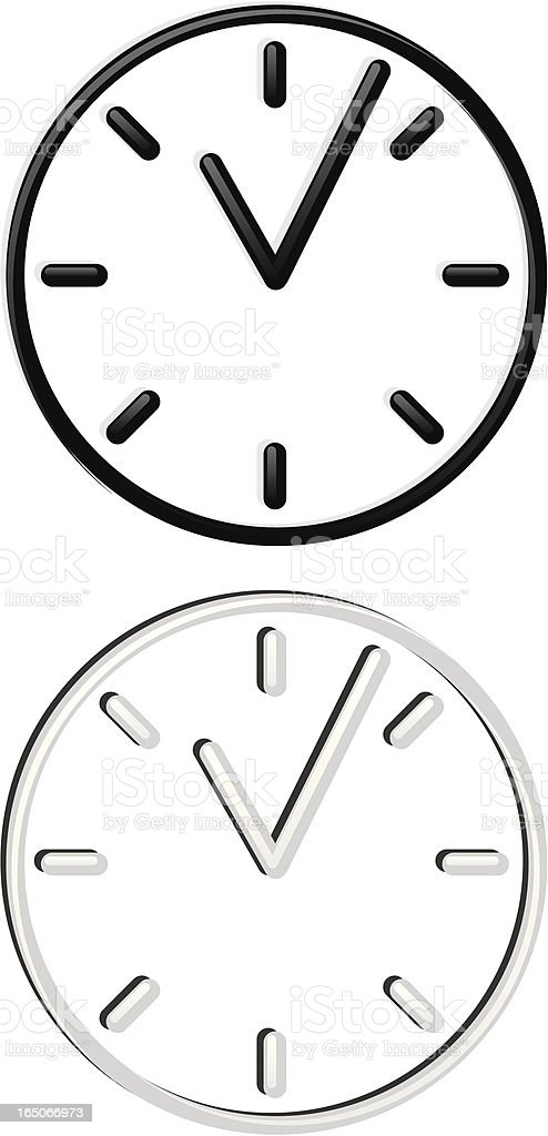 time piece royalty-free stock vector art