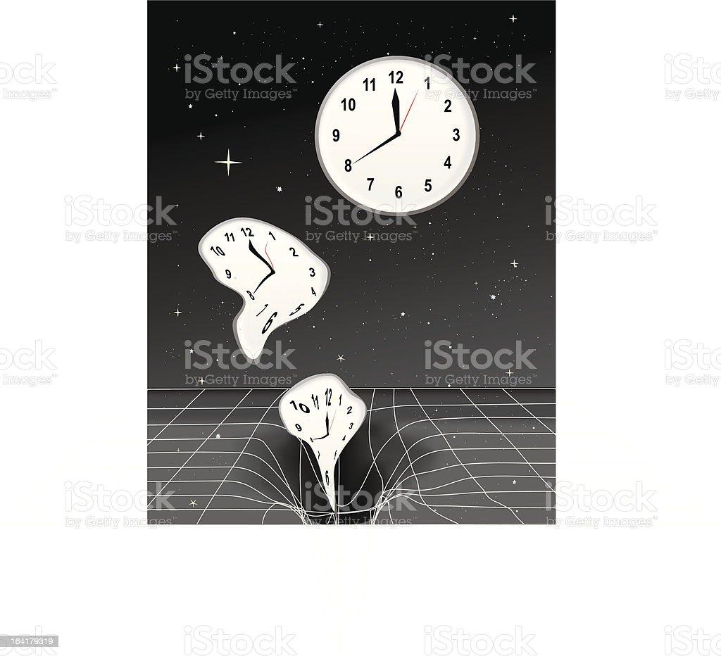 Time Warp vector art illustration
