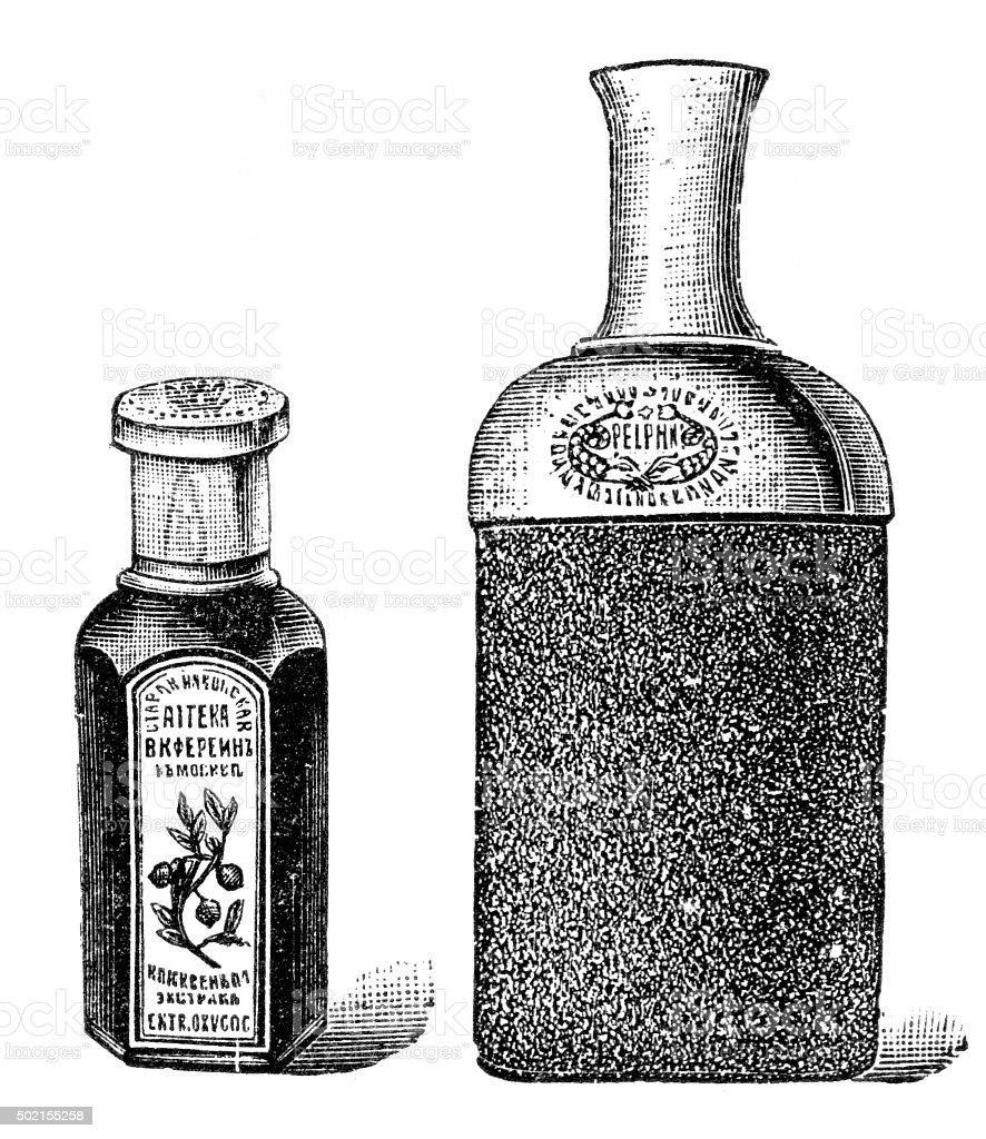 tincture vector art illustration
