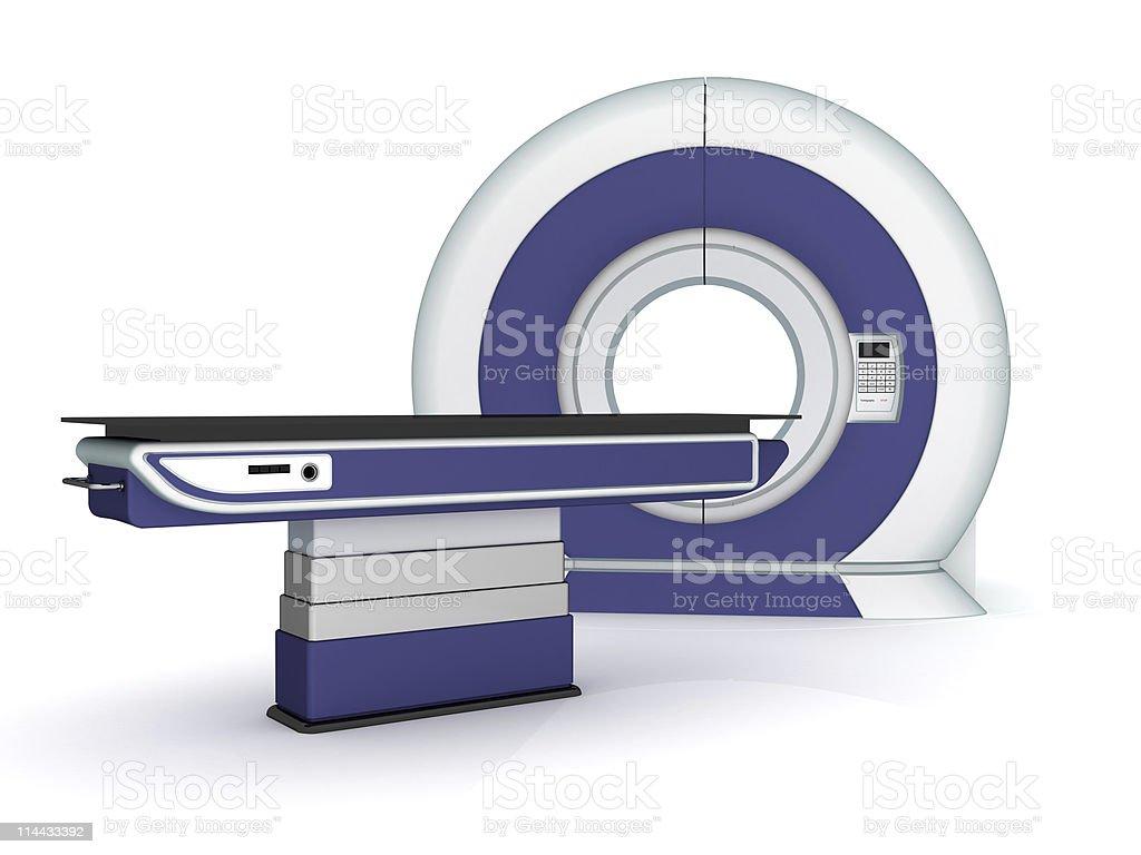Tomograph vector art illustration