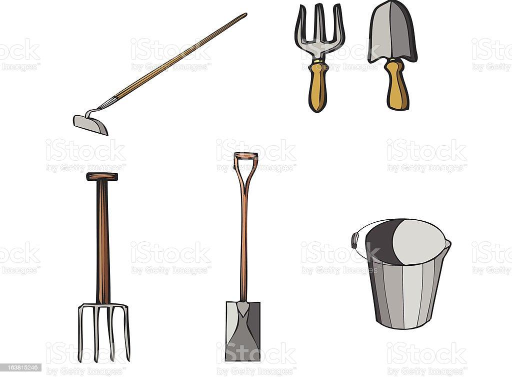 tools3(various) royalty-free stock vector art