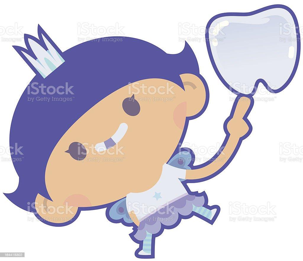 Tooth Fairy vector art illustration
