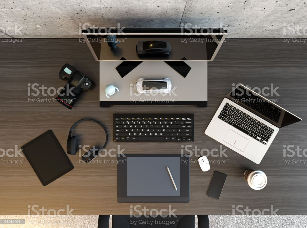 Table Top View