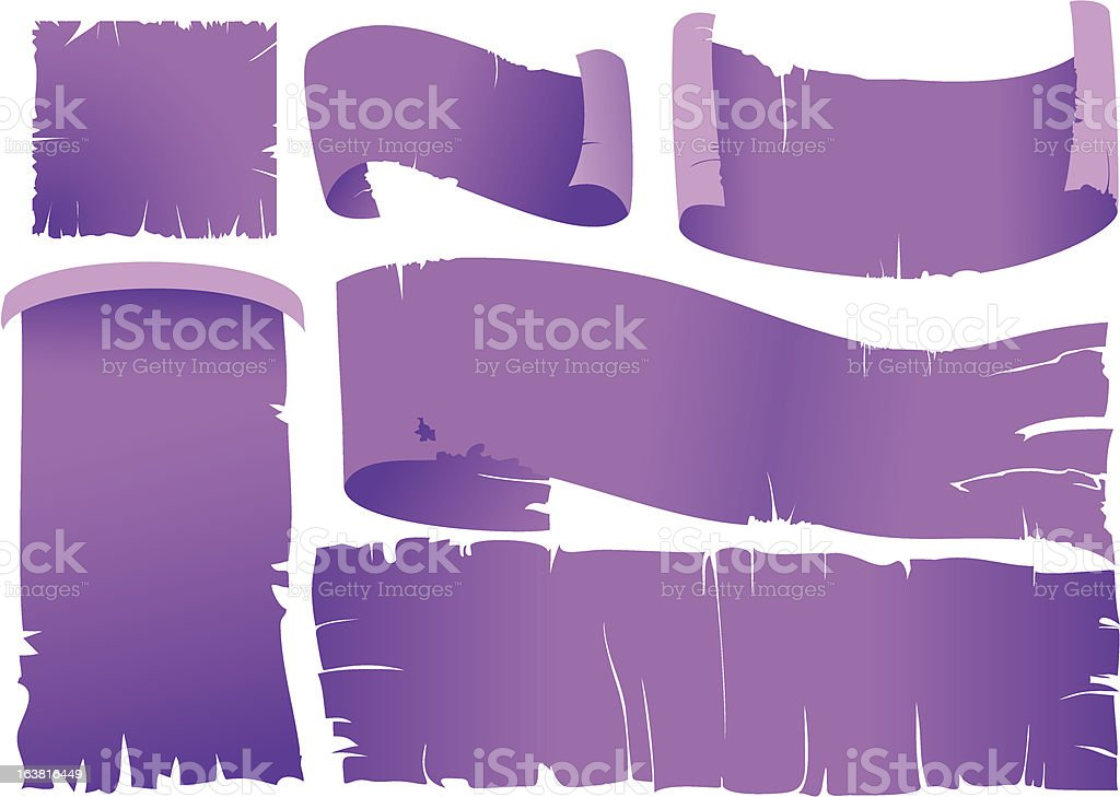 torn frame royalty-free stock vector art