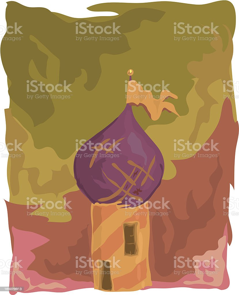 Tower royalty-free stock vector art