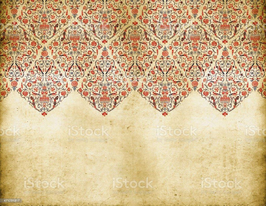 Traditional Persian Background vector art illustration