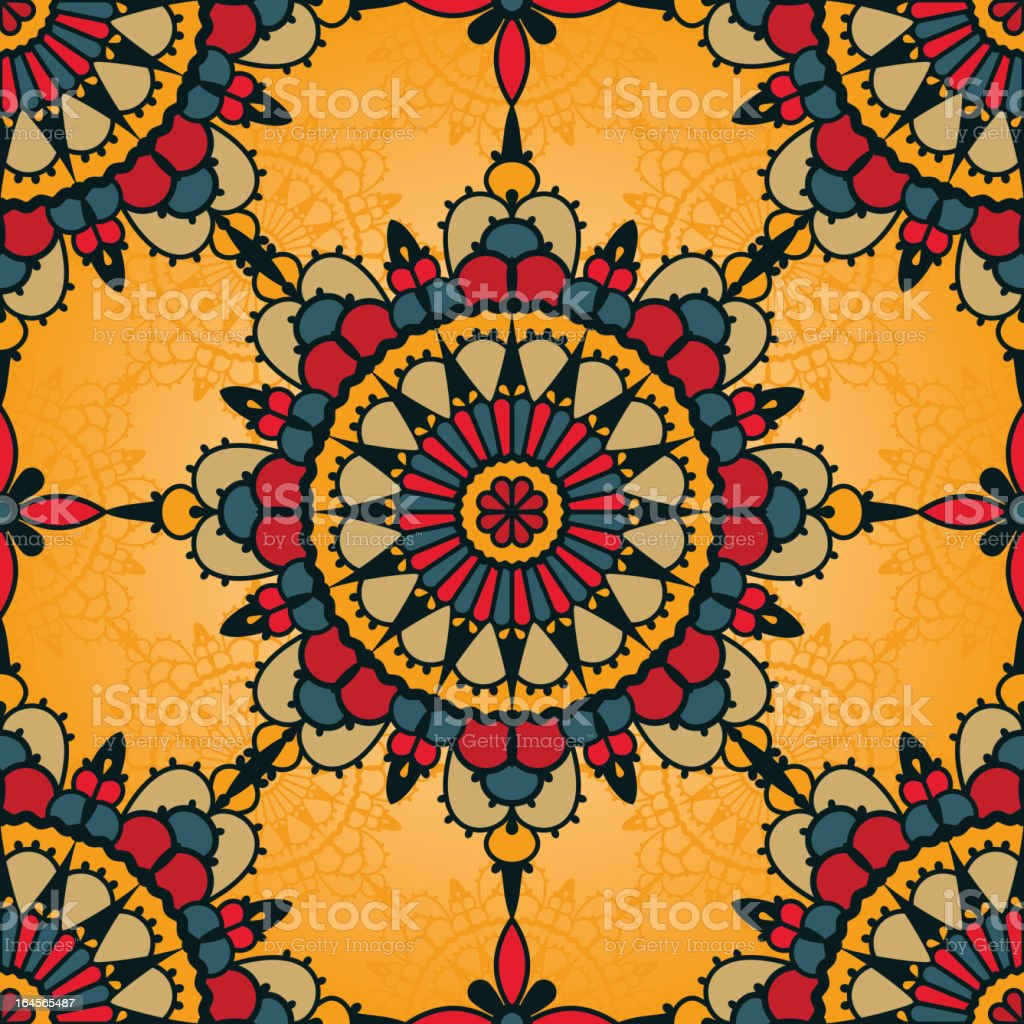 traditional seamless pattern royalty-free stock vector art