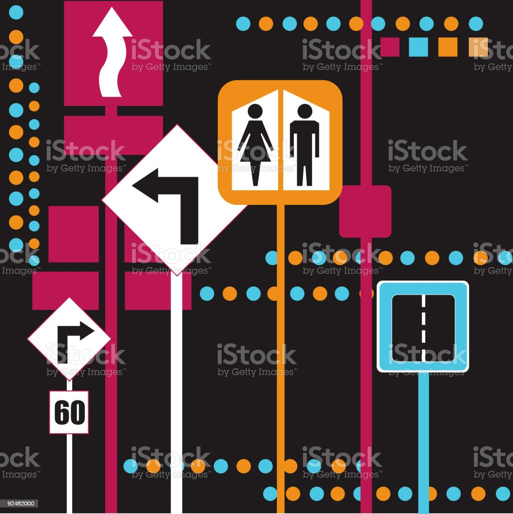 Traffic Design royalty-free stock vector art