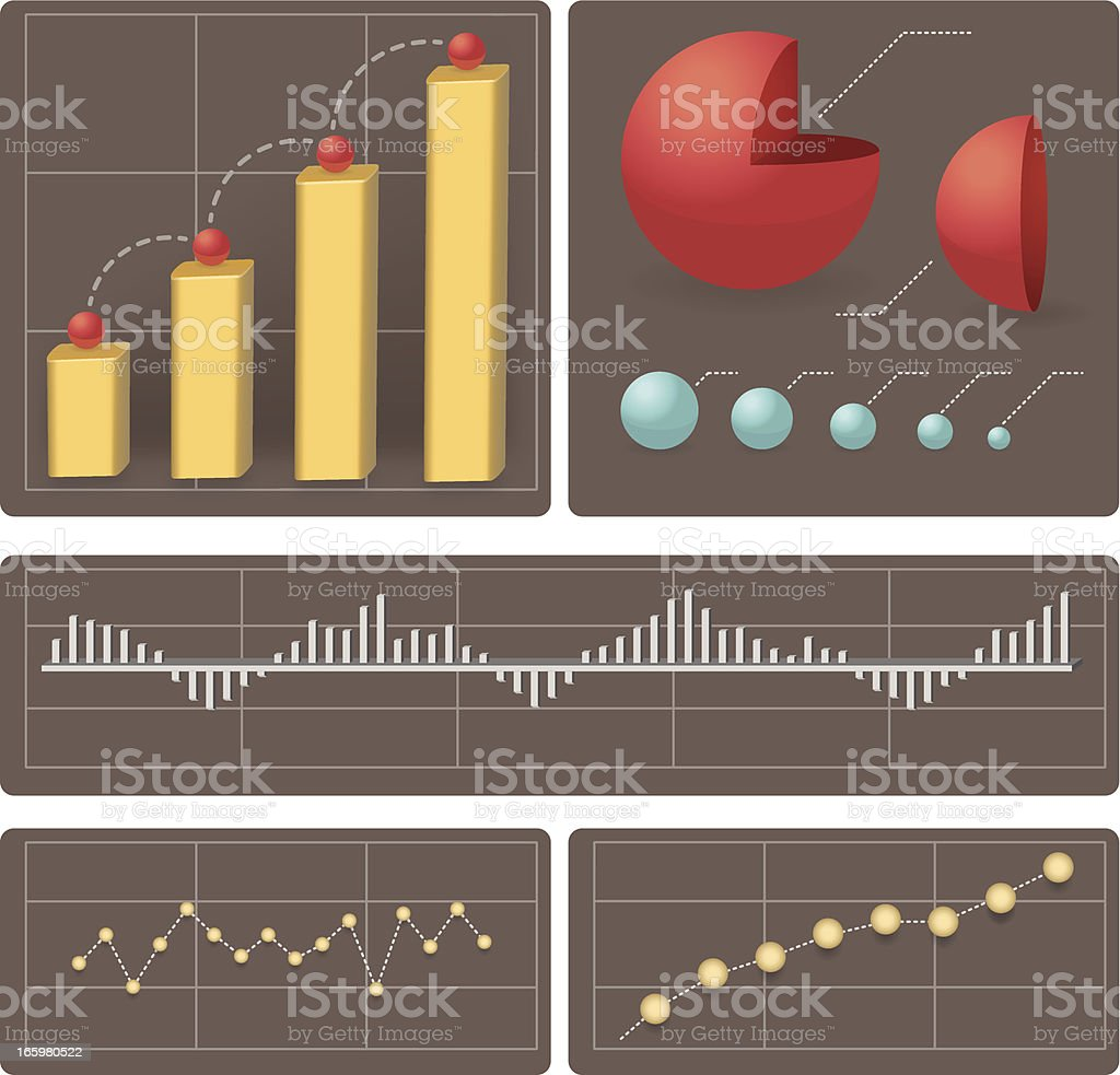 traffic infographic vector art illustration
