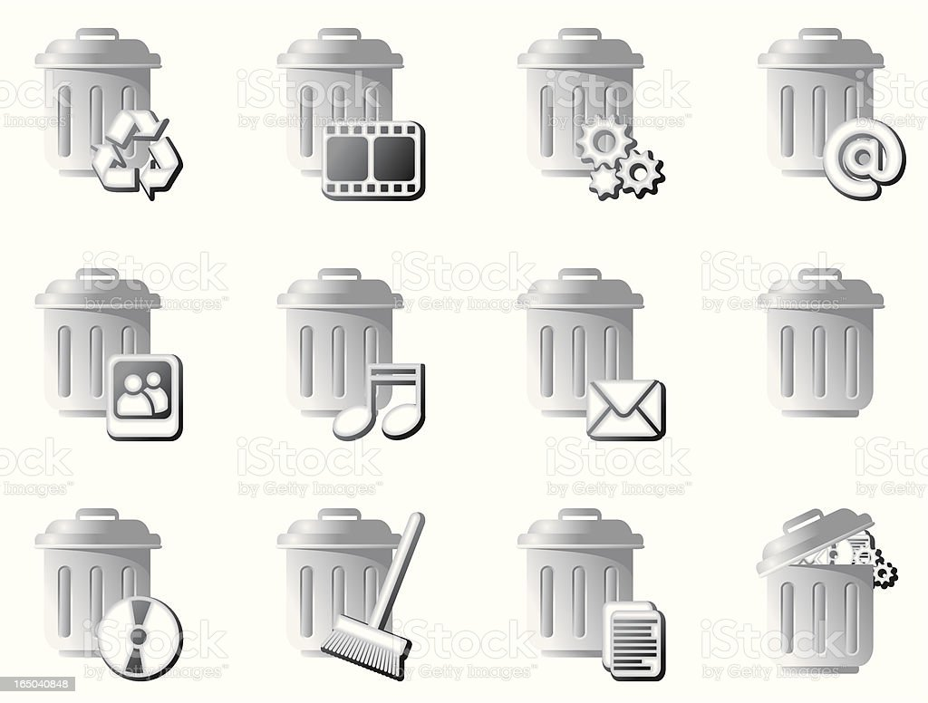 Trash royalty-free stock vector art