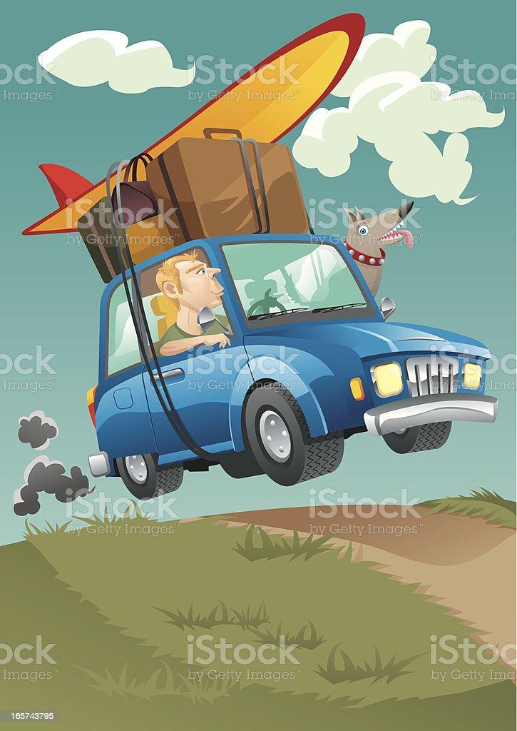 Travel! vector art illustration