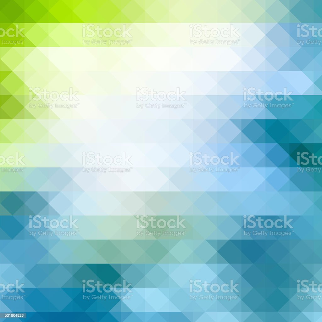 Triangle geometric background vector art illustration