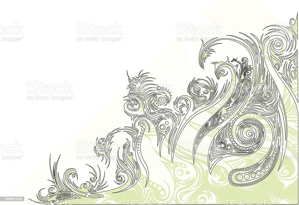 Tribal Ornament royalty-free stock vector art