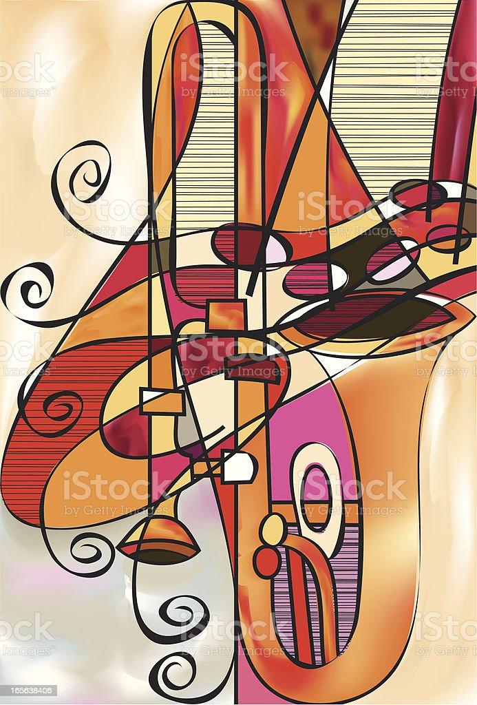 Trombone Conspiracy royalty-free stock vector art