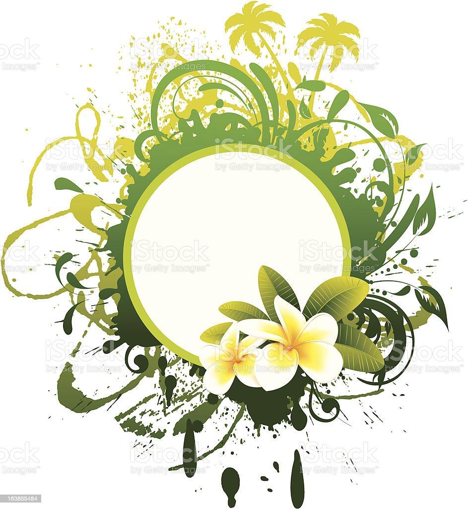Tropical Banner royalty-free stock vector art