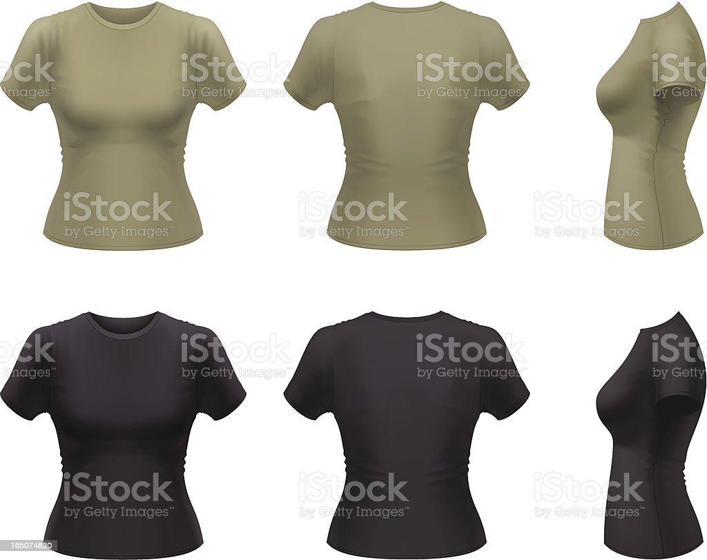 T-shirt royalty-free stock vector art