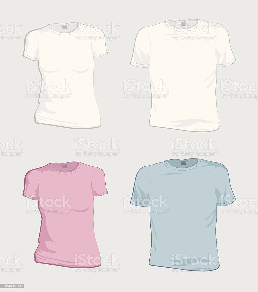 T-Shirts royalty-free stock vector art