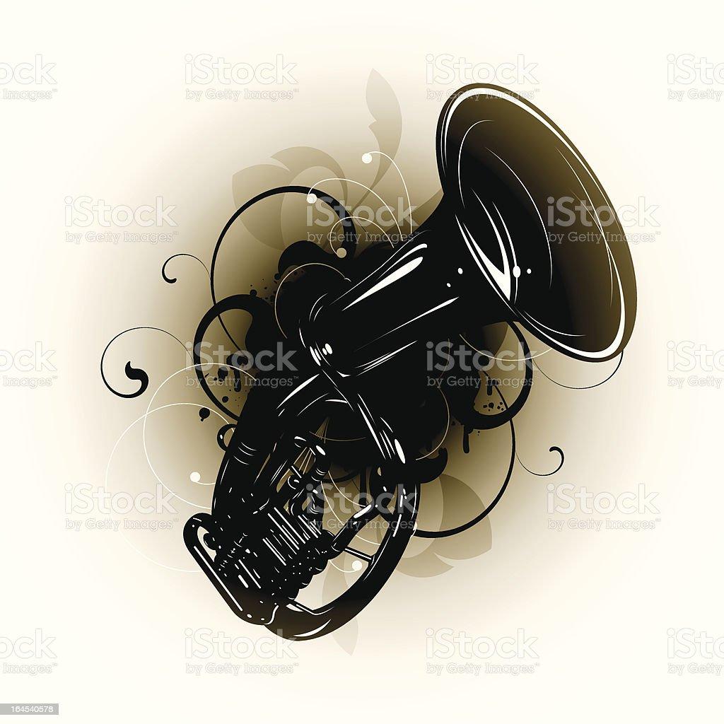Tube vector art illustration
