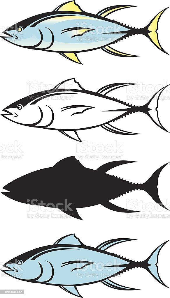 tuna graphics royalty-free stock vector art