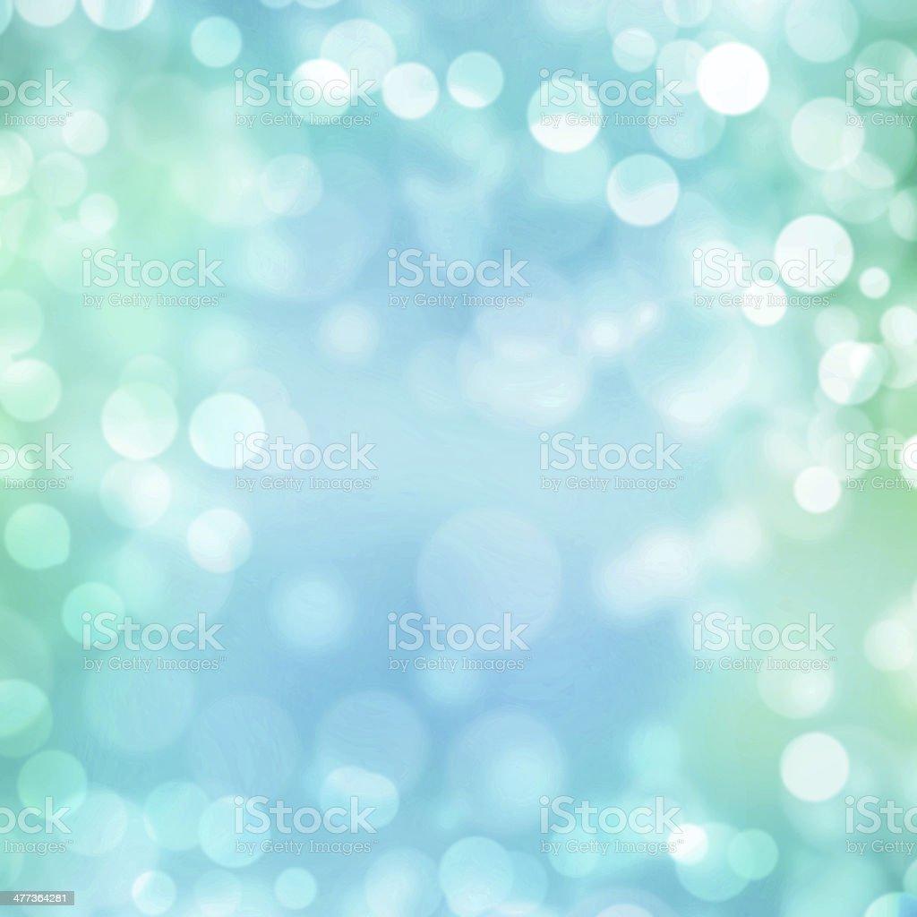 Turquoise pastel bokeh background vector art illustration