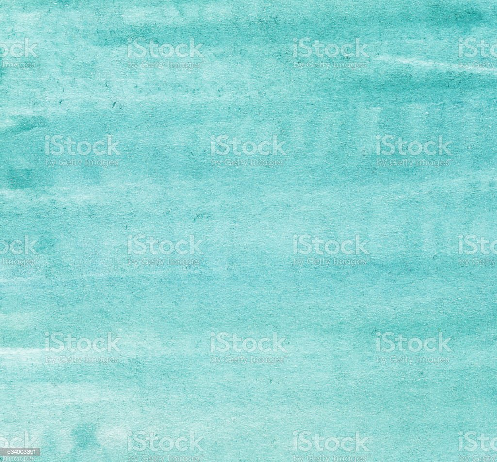Turquoise watercolor background vector art illustration