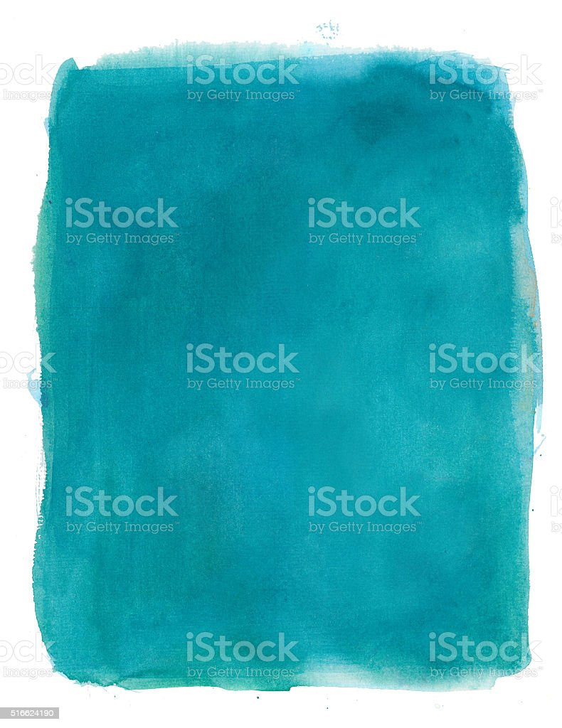 Turquoise watercolour background vector art illustration