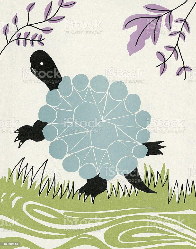 Turtle royalty-free stock vector art