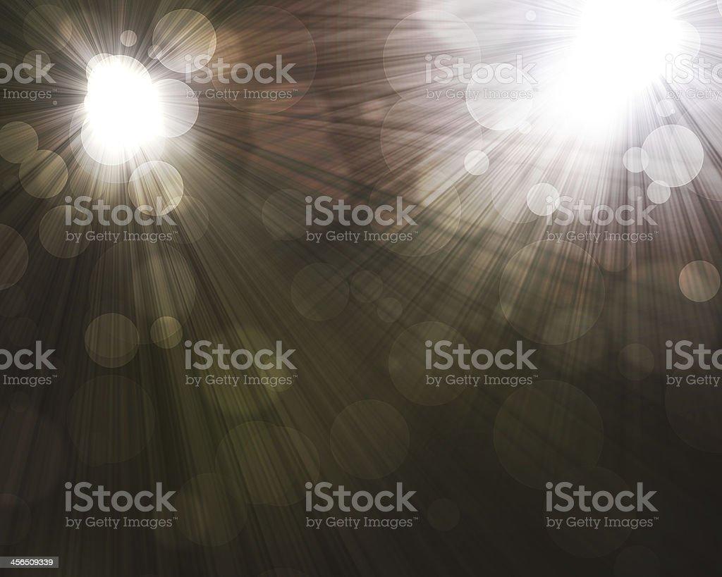 two spotlights royalty-free stock vector art
