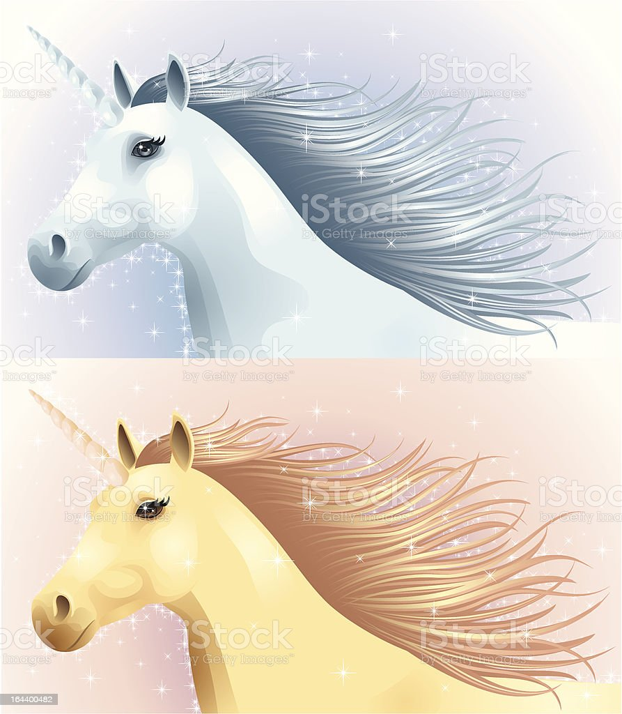 Unicorn. royalty-free stock vector art