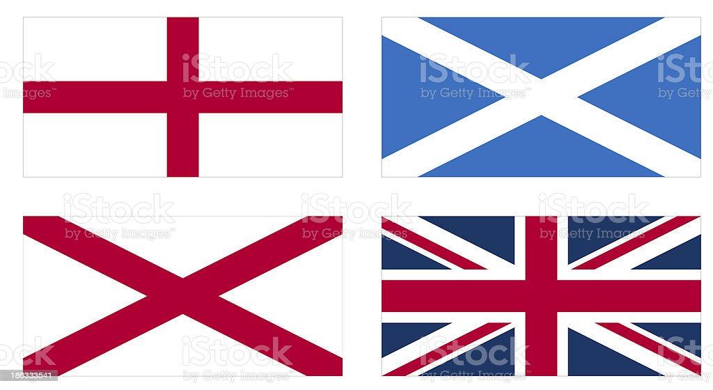 Union Jack royalty-free stock vector art