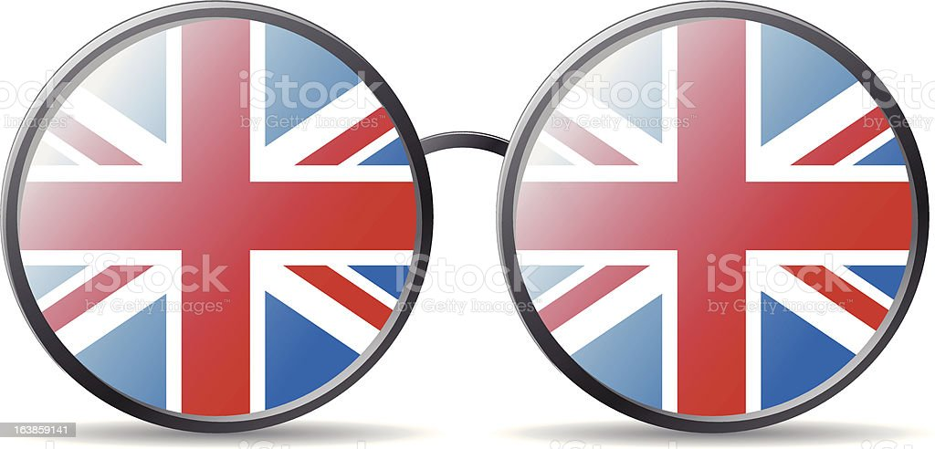 Wielka Brytania Flaga stockowa ilustracja wektorowa royalty-free