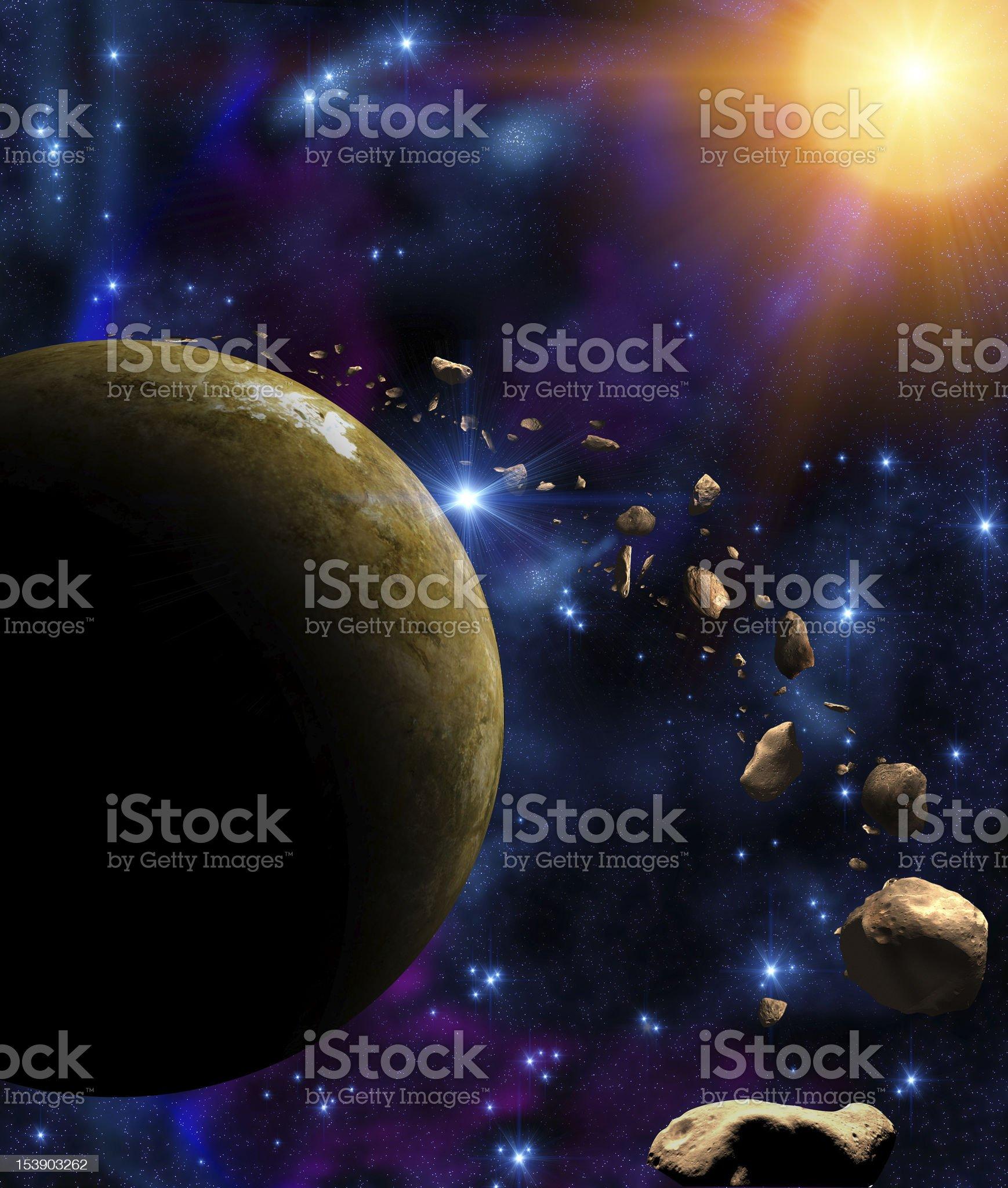 Universe royalty-free stock vector art