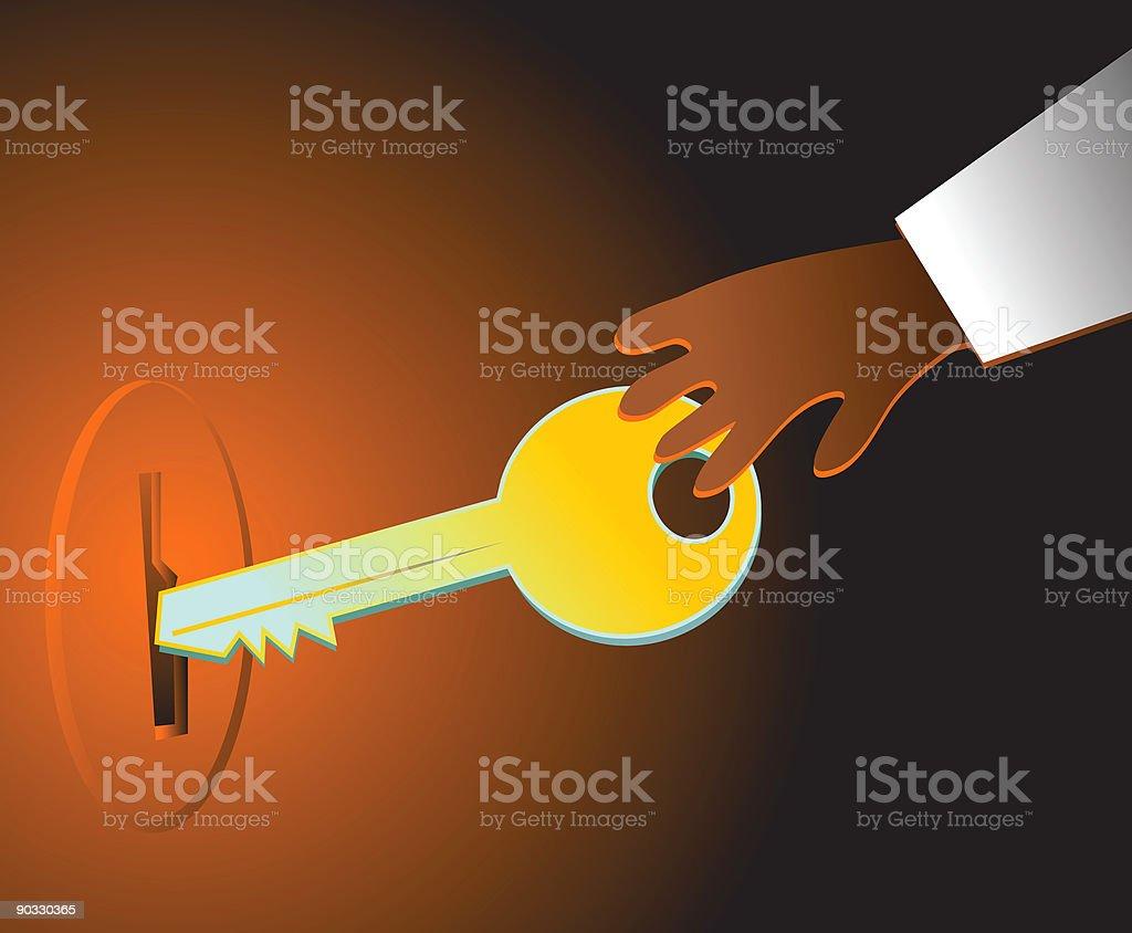 unlock royalty-free stock vector art