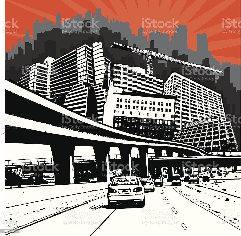 Urbania royalty-free stock vector art