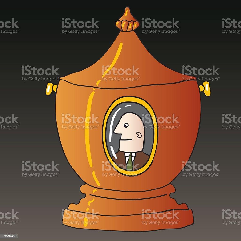 urn royalty-free stock vector art