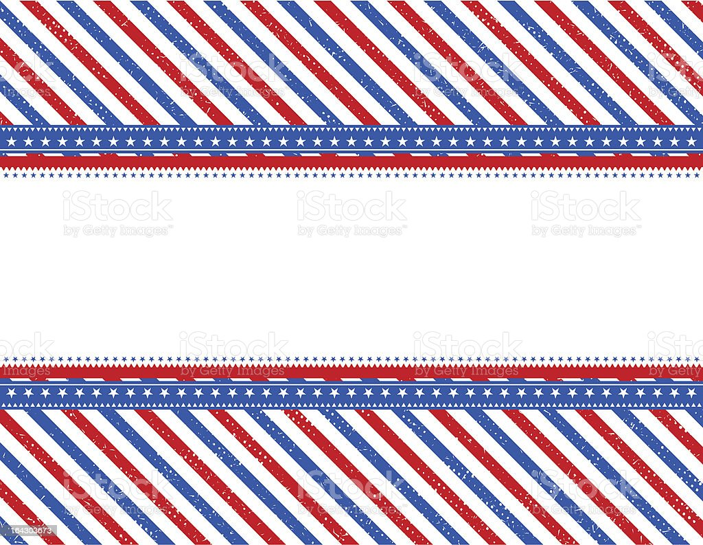 usa  background with texture royalty-free stock vector art