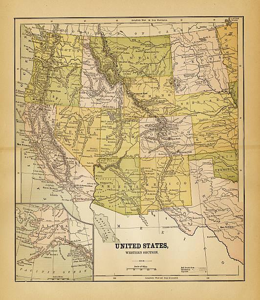 Old Map South Carolina Clip Art Vector Images Illustrations - Us map 1884
