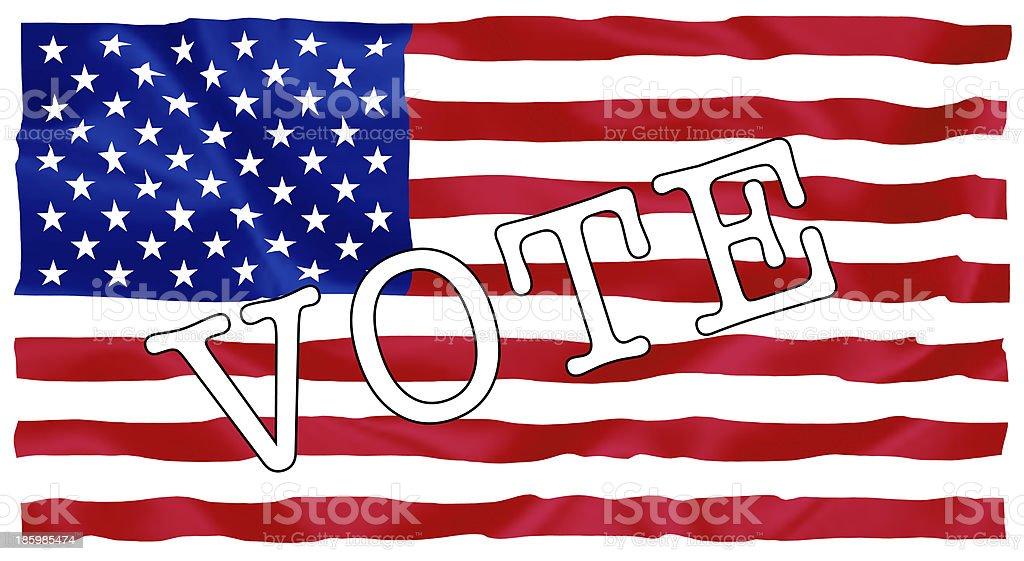 Usa president election royalty-free stock vector art