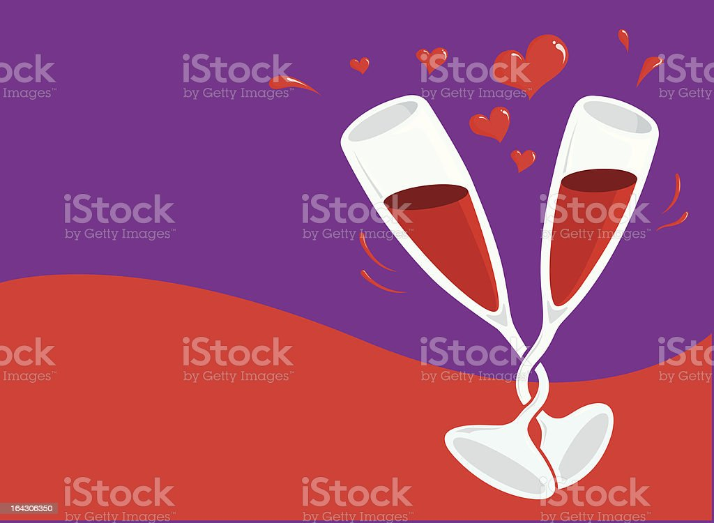 valentine day card royalty-free stock vector art