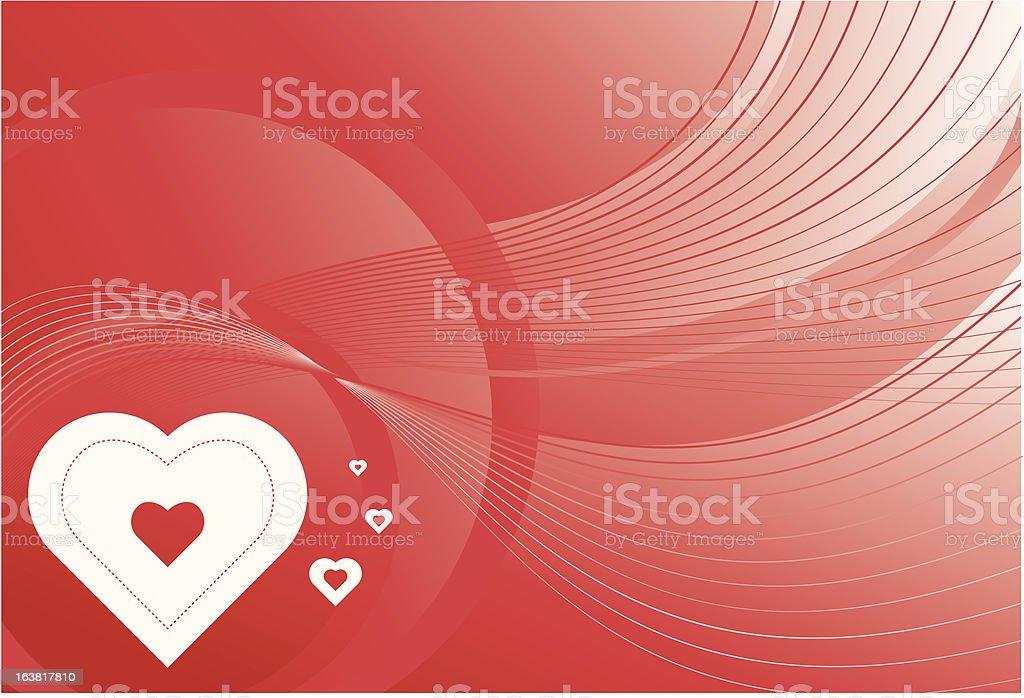 Fond de coeur Saint-Valentin stock vecteur libres de droits libre de droits