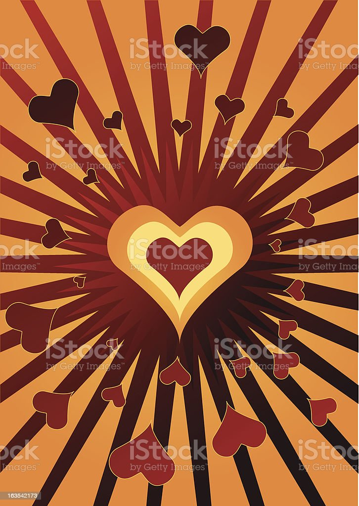 Valentine [vector] royalty-free stock vector art