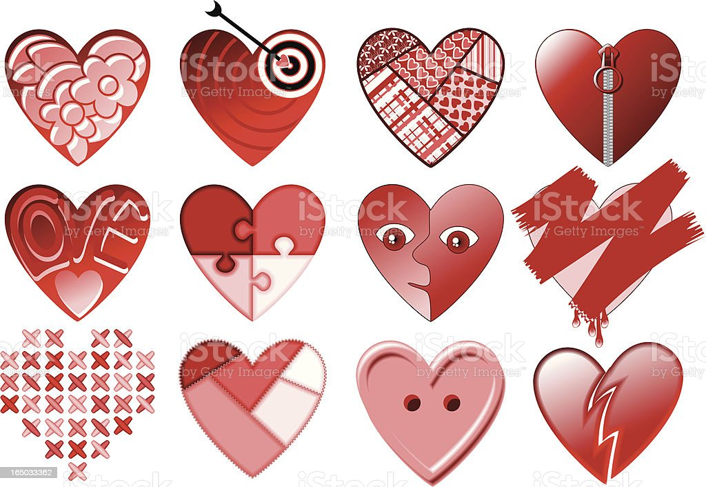 Valentine-pack royalty-free stock vector art