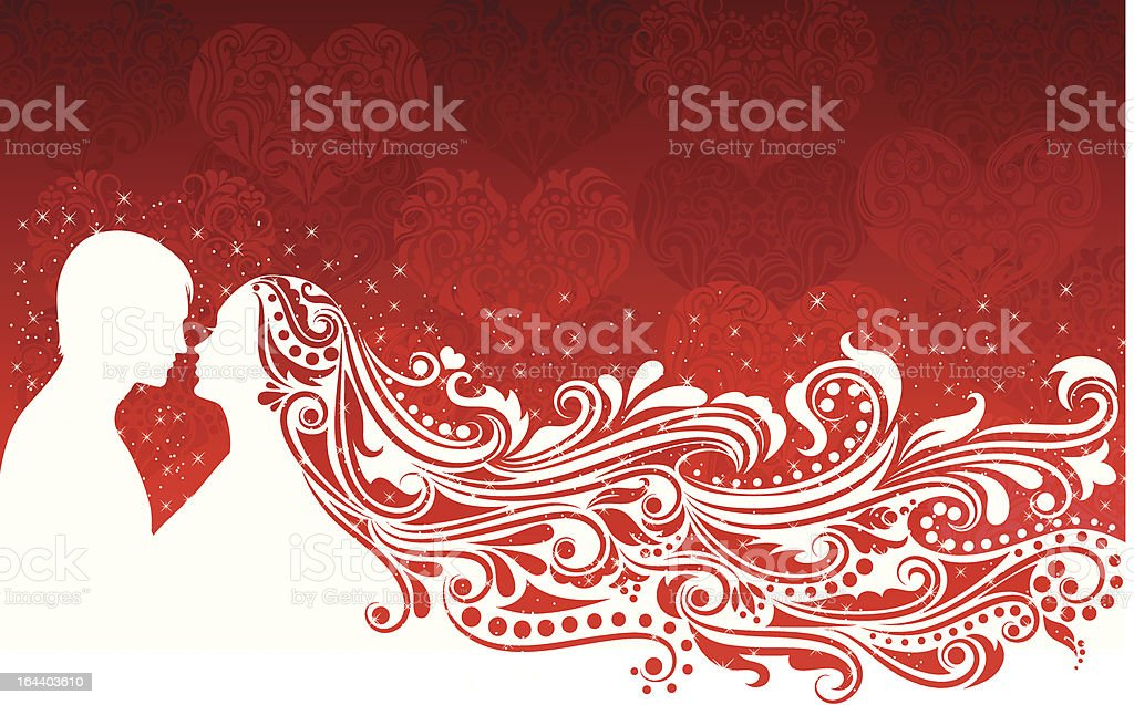 Valentine's day background. royalty-free stock vector art