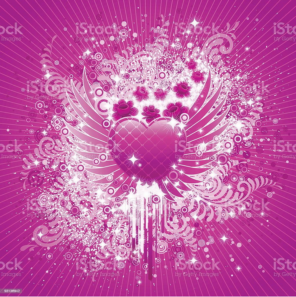 Valentines Day design. royalty-free stock vector art