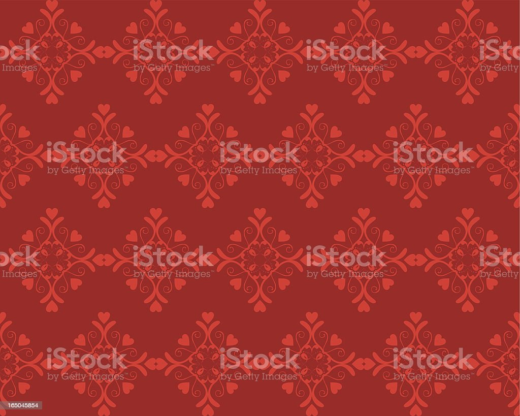 Valentine's Day Pattern royalty-free stock vector art