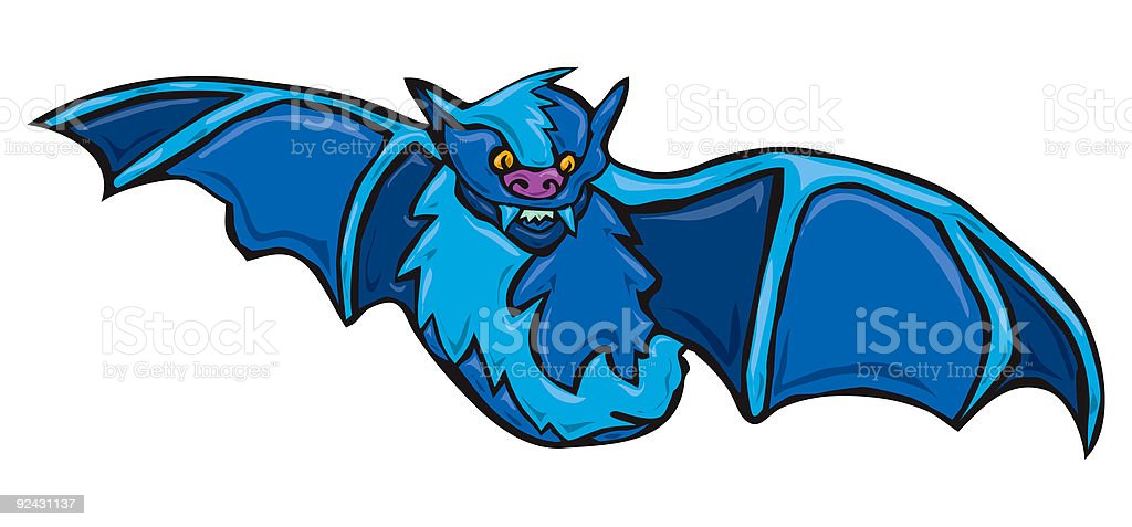 Vampire Bat royalty-free stock vector art
