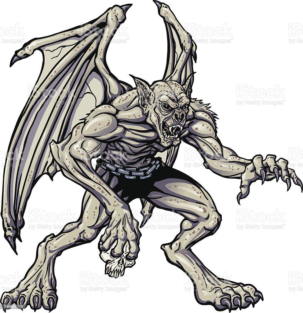 Vampire Monster royalty-free stock vector art