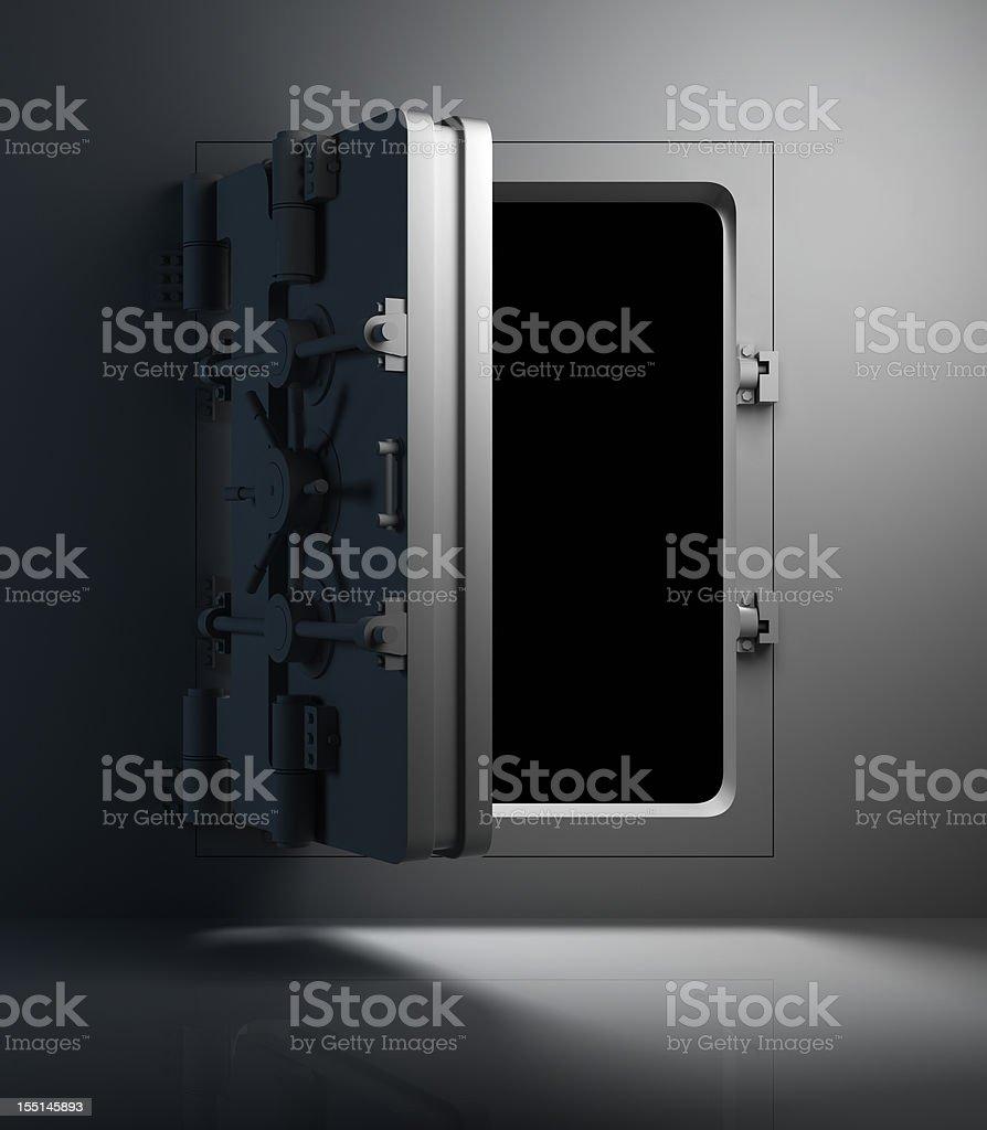 Vault Door royalty-free stock vector art